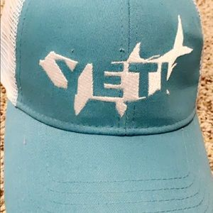 Yeti ball cap trucker hat
